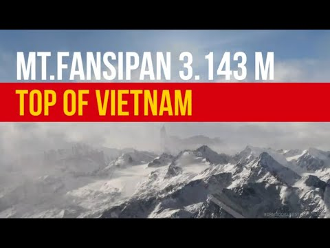 Fansipan Summit 3,143m Sapa Vietnam Jan.2020