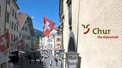 Schweizer Alpenstadt CHUR