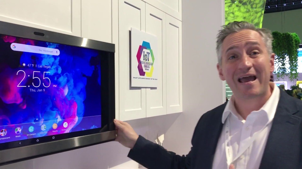 ces 2020 a look at the ge kitchen hub 2