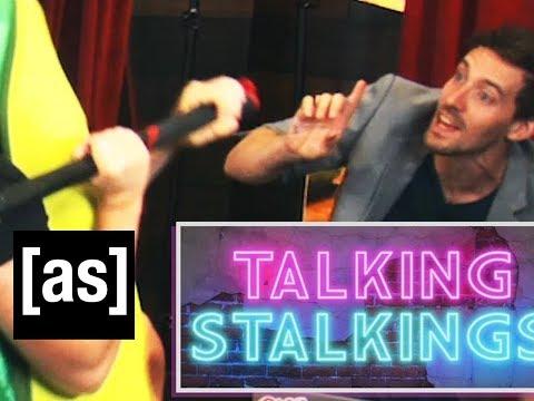 Talking Stalkings [adult swim] bumper.