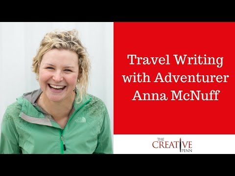 Travel Writing With Adventurer Anna McNuff