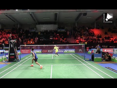 Lee Chong Wei vs Kashyap Parupalli - MS [Denmark Open 2015]