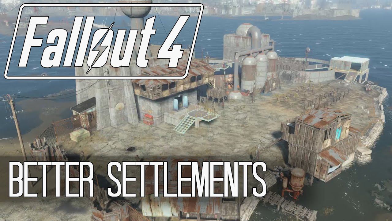 Fallout 4 settlement building tips and tricks clipping for Construction tips and tricks