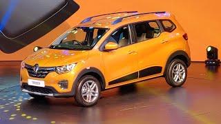 Renault Triber Walkaround | Hindi | Economical, Feature Rich 7 Seater | Motoroids thumbnail