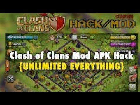 download game clash of clans mod apk offline terbaru