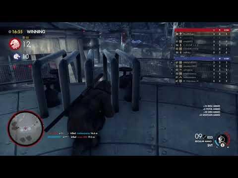 Sniper Elite 4 multiplayer teamdeth match part 1 |