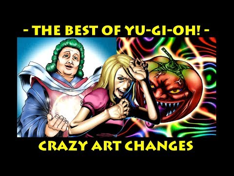 Yugioh Cards with CRAZY Art Changes | The Best of Yu-Gi-Oh!