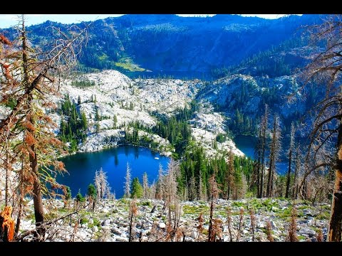 Backpacking to the Beautiful Caribou's of the Trinity Alps