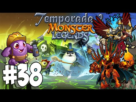 Monster Legends T2 - Capitulo 38 - Lord Moltus , Worker Hulk y Nebotus