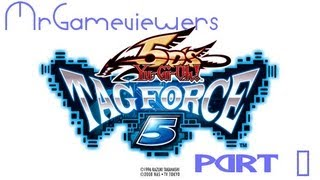 Yu-Gi-Oh 5D's Tag Force 5 - Gameplay Walkthrough : [JPCSP] - Part 1 - Crow's Story