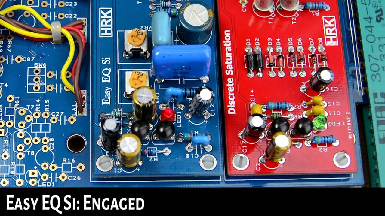 Easy EQ Si Colour Module Demo - Compatybile with DIYRE | DIY Recording  Equipment Colour Palette