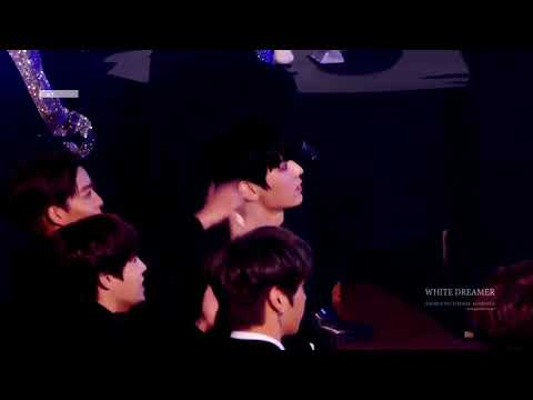 [WANNA ONE] Look at their reaction in Sanggyun Rap
