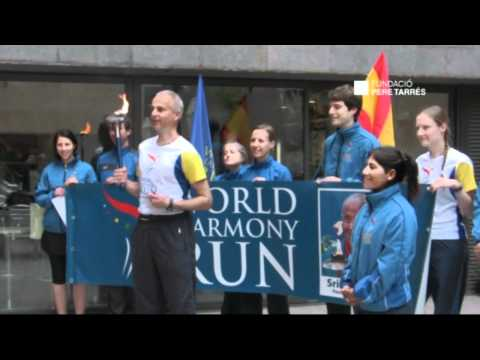 The Hostel Pere Tarrés of Barcelona is taking part in the World Harmony Run