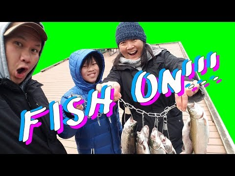 Spring Break Trout Bass Fishing Adventures April 2019