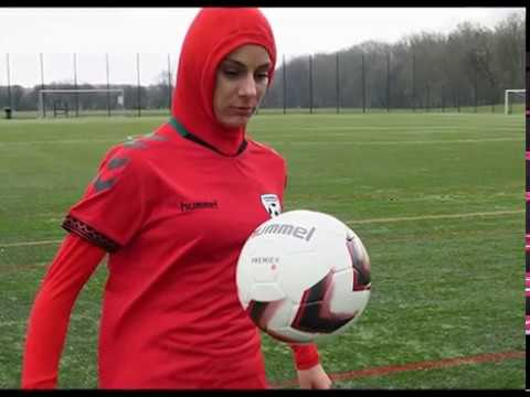 Iran bans female footballer for ditching hijab on holiday