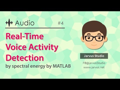 Real Time Voice Activity Detection - File Exchange - MATLAB Central
