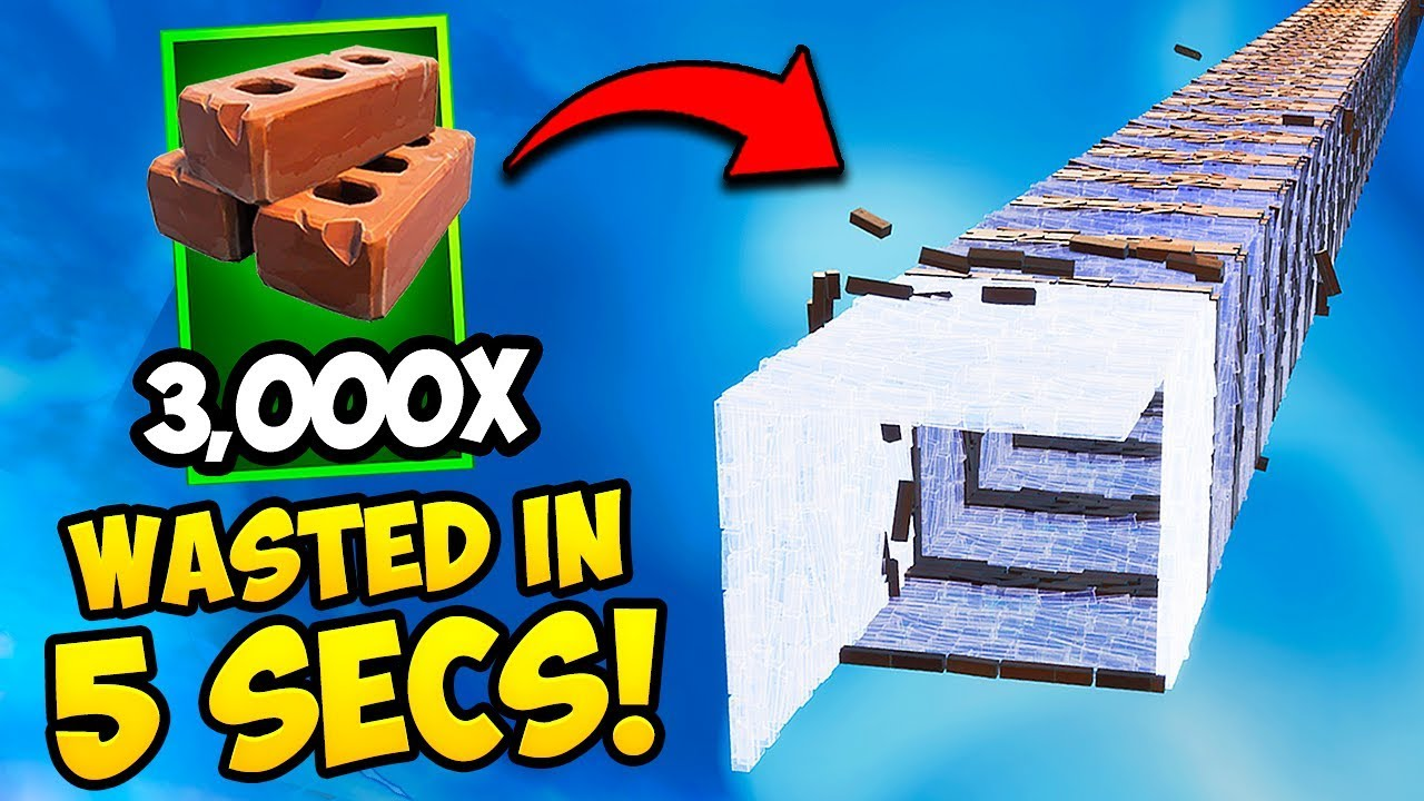 *WORLD RECORD* USE MAX MATS IN 5 SECONDS!! – Fortnite Funny Fails and WTF Moments! #692