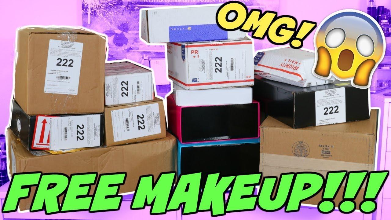 how to get free makeup pr