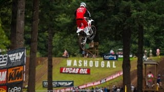 On Saturday, at Round 9 of the Lucas Oil Pro Motocross Championship...