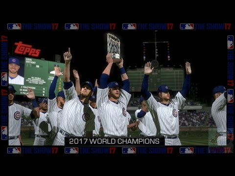 MLB: The Show 17 - Chicago Cubs World Series Celebration