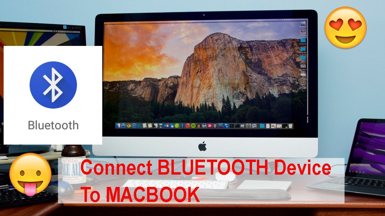 Connect Bluetooth Device To Mac Bluetooth Macbook Air & Pro