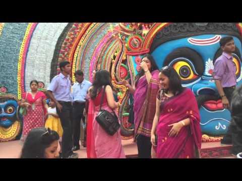 Durga Puja 2015 - Chou Dance theme