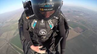 Jeb Corliss first jump back
