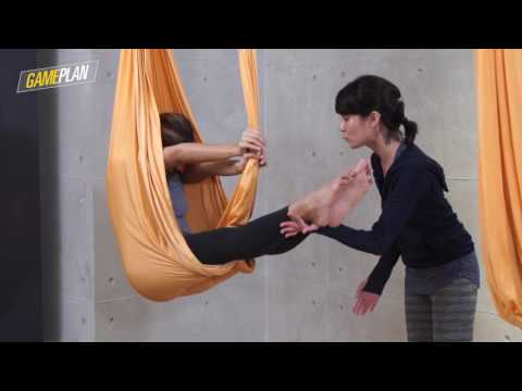 Gameplan: Anti-gravity yoga for newbies