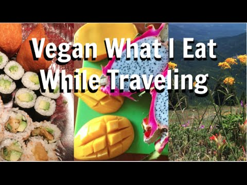 VEGAN WHAT I EAT IN A DAY IN OREGON
