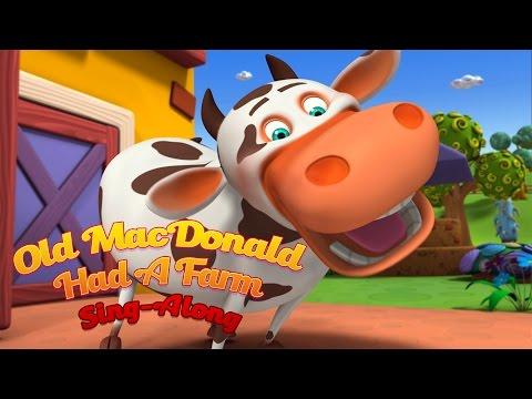 Old McDonald Had A Farm  (Lets Sing-Along) - Nursery Rhymes