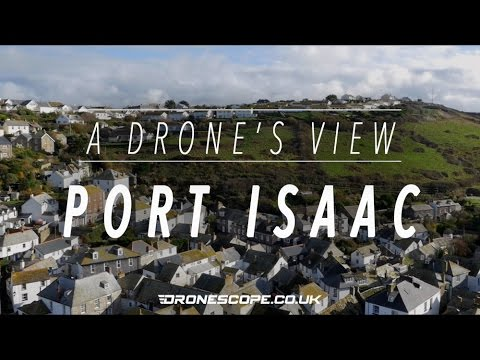 A Drone's View - Port Isaac & Port Gaverne, Cornwall