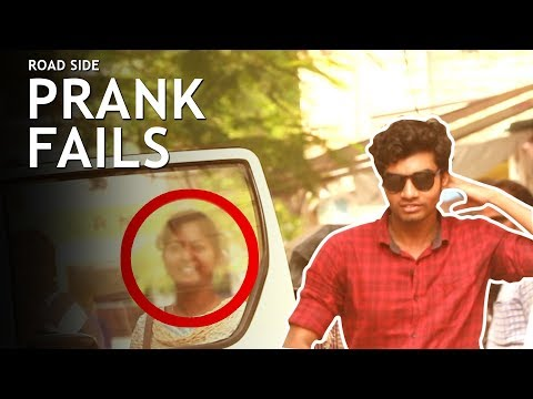 ROAD SIDE PRANK FAILS | MADRAS CENTRAL