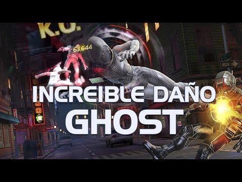 INCREIBLE! El daño de Ghost! | Marvel Contest of Champions