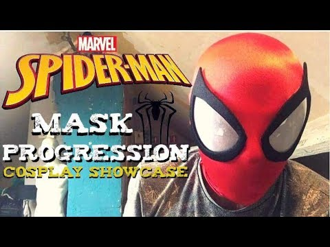 Spider-Man Mask Progression Video | All of My  Masks |