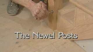 Install Newel Posts How Build Stairs