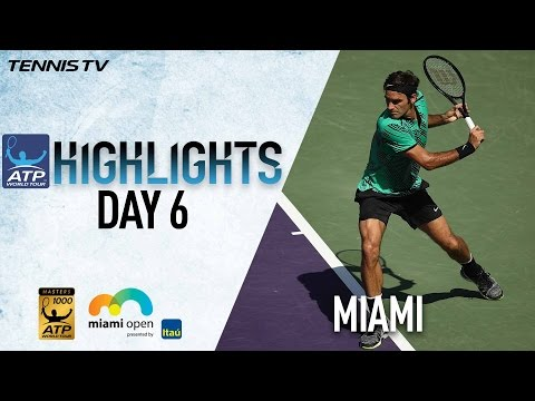 Highlights: Wawrinka, Federer Advance To Miami 2017 4R On Monday