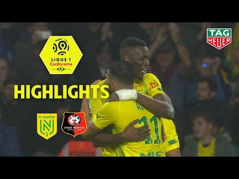 FC Nantes - Stade Rennais FC ( 1-0 ) - Highlights - (FCN - SRFC) / 2019-20