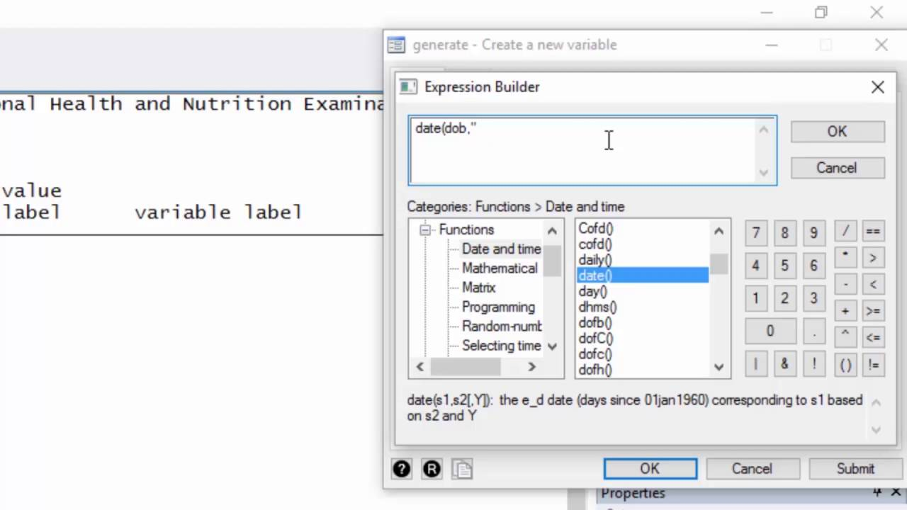 Data management: How to create a date variable from a date stored as a  string