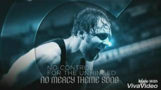 WWE No Mercy 2016 Official Theme Song-