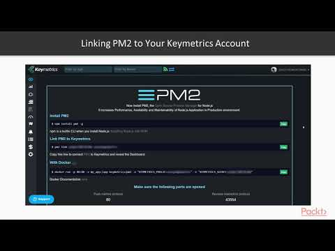 Building Microservices with Node.js: Monitoring with PM2 and Keymetrics | packtpub.com