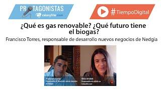 ¿Qué es gas renovable? ¿Qué futuro tiene el biogas? Francisco Torres - NEDGIA