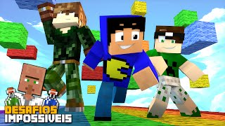 Minecraft: PARKOUR DAS CORES! (DESAFIOS IMPOSSÍVEIS #4)