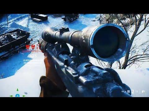 Battlefield V Sniper Gameplay thumbnail