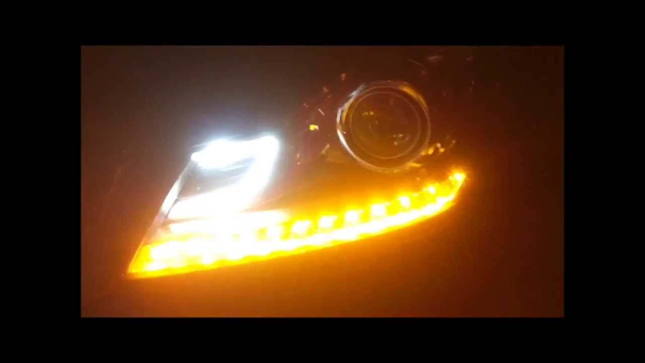 Mercedes c klasse w204 original led facelift xenon front for Mercedes benz intelligent light system c class