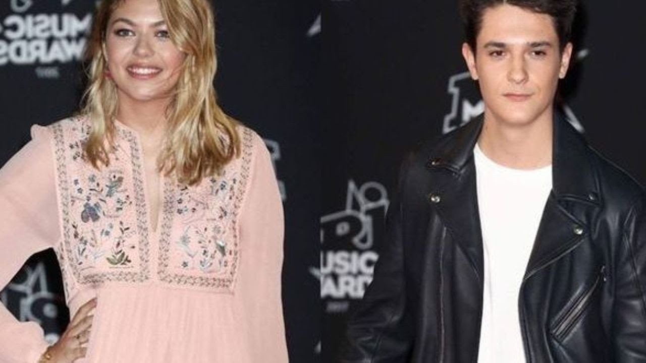 louane et kungs en couple premier bisou romantique. Black Bedroom Furniture Sets. Home Design Ideas