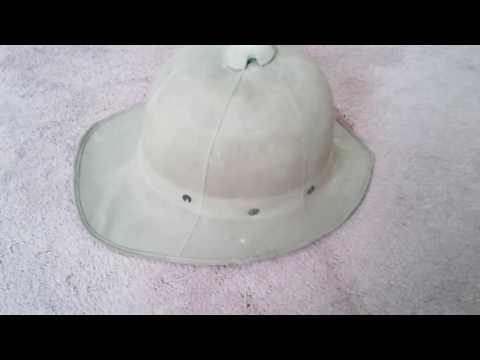 Ww2 British pith helmet.