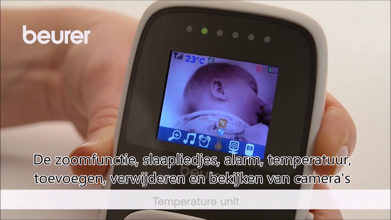 cd716ddbc86 Beurer BY99 Baby Monitor (Video + Wifi Dual/Mode) Multibrands NL ...