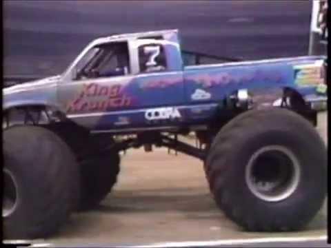 TNT Monster Truck Challenge 1990 Race 1 Houston American Sports Cavalcade