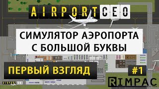 Airport CEO | первый взгляд и подробный обзор | #1