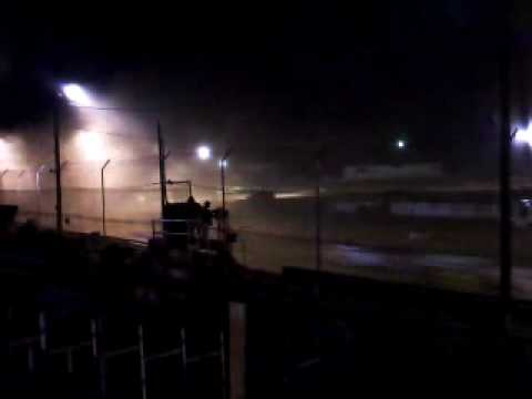 Late Model Dirt Track Racing from Lakeville Speedway in Ohio 4/23/10